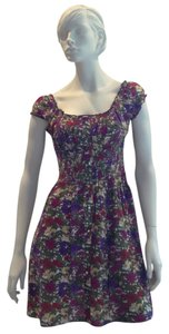 Just For Wraps short dress Flower Print on Tradesy