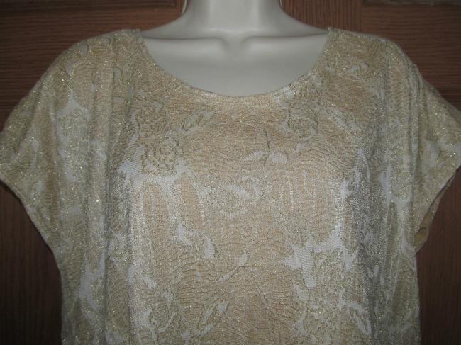 Elementz Sparkle Top GOLD LAME