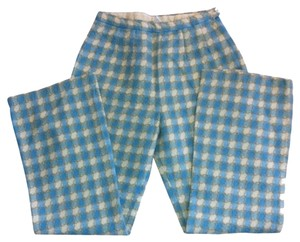 Miss Holly Vintage Woven Checks Skinny Pants Multi