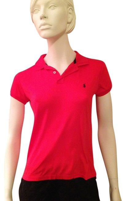 Preload https://img-static.tradesy.com/item/527411/ralph-lauren-red-polo-classic-tee-shirt-size-8-m-0-0-650-650.jpg