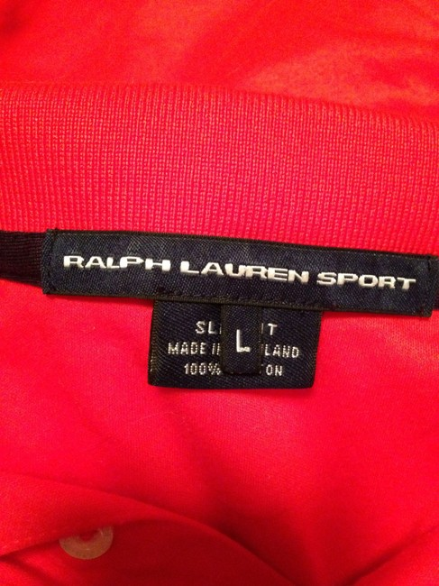Ralph Lauren Polo Classic T Shirt Red