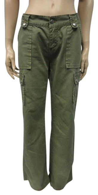Item - Green Olive Pants Size 6 (S, 28)