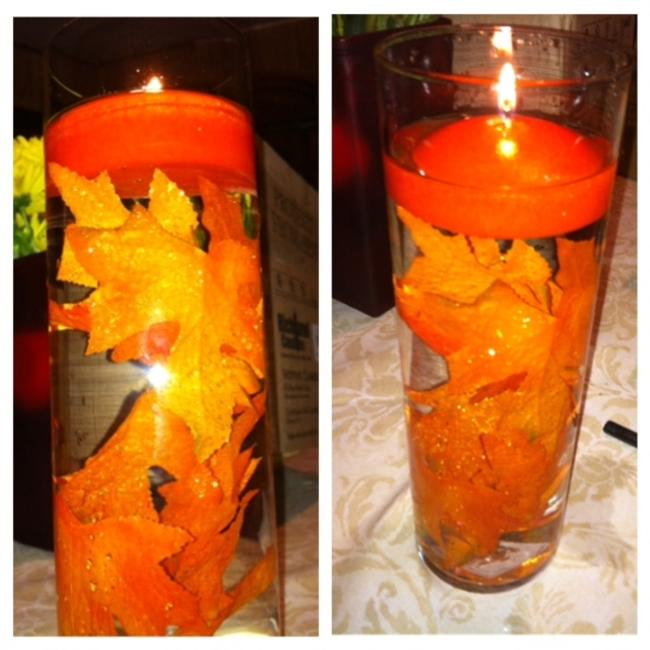 Item - Orange 30 Vases (10 Sets Of 3 Sizes) (10) 10.5 Inch (10) 7.5 Inch and (10) 4.5 Inch Centerpiece