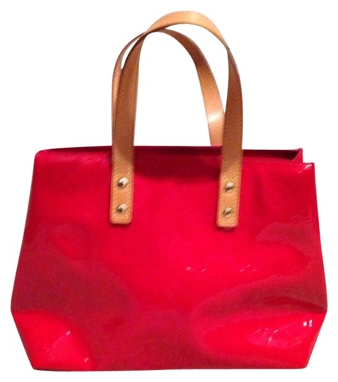 Louis Vuitton Monogram Tote in Red