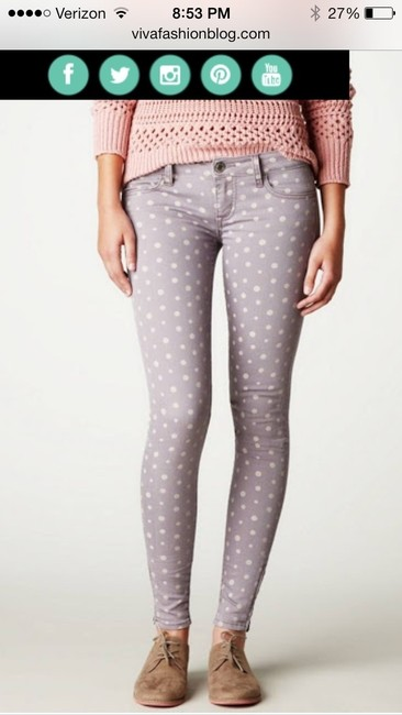 American Eagle Outfitters Skinny Jeans-Coated