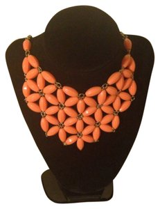 Orange sherbert Statement Necklace