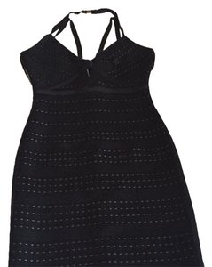 Hervé Leger New Great Fit Black Dress