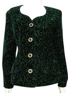 04472f2ecdef7 Patra Usa Jacket Sparkle Glitter Event Special Occasion Mother Of The Bride  10 M Metallic Floral