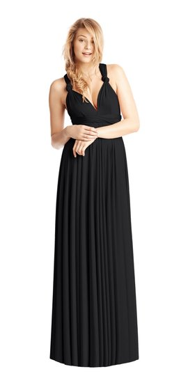 Twobirds Black Twobirds Classic Ballgown Dress