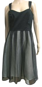 jane hamill Little Prom Evening 8 Mint Mesh Sleeveless M Medium Cocktail Cute Dress