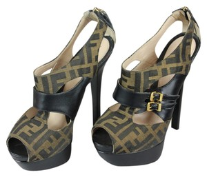 Fendi Brown/Black Pumps