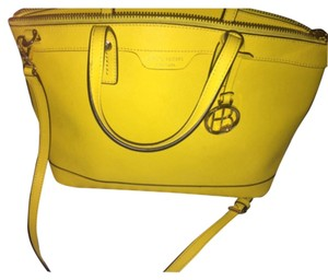 Henri Bendel Satchel in Citrus