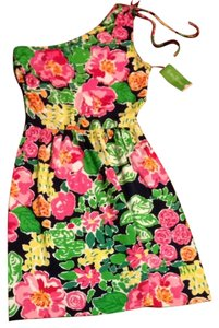 Lilly Pulitzer short dress Multi Getaway Garden on Tradesy