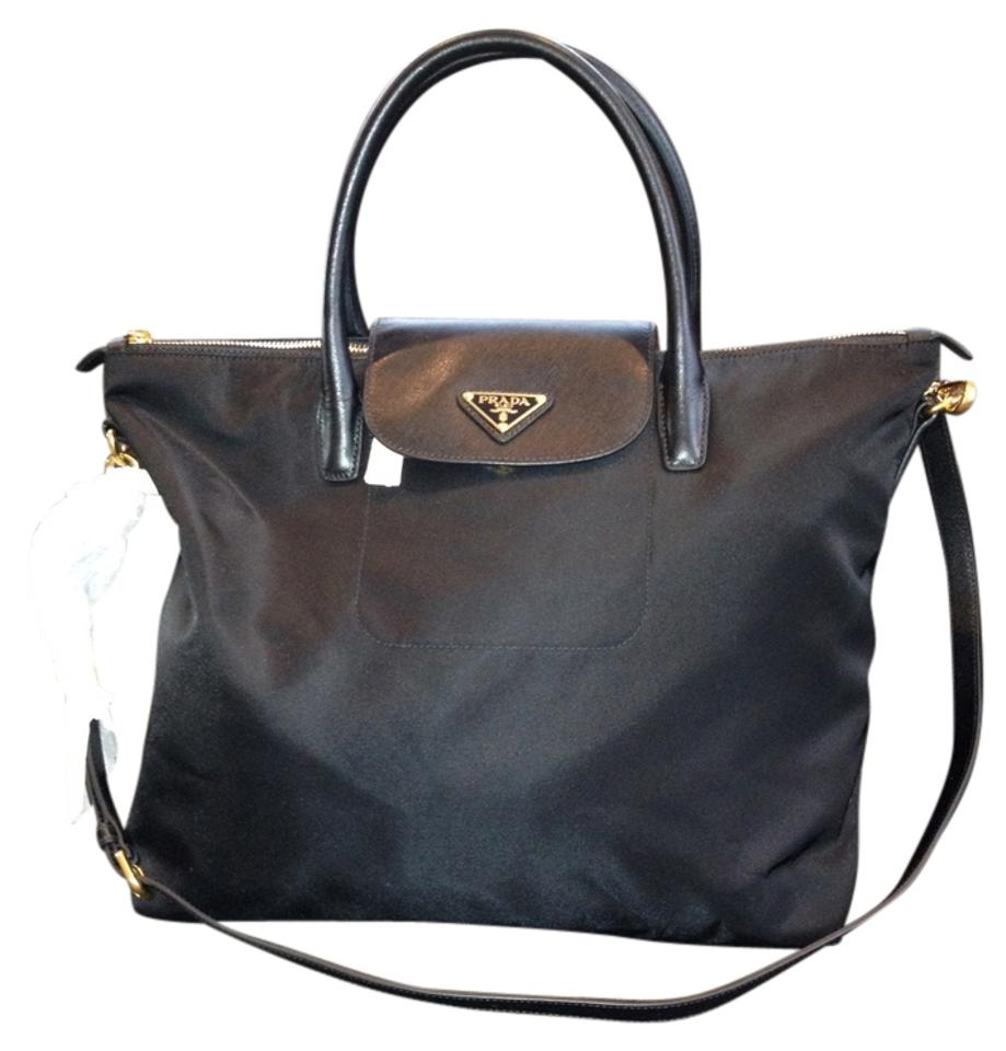 7abe6eb0d161 Prada Tessuto Saffiano Item #:pr1007 Model Number:bn2107 Black Nylon ...