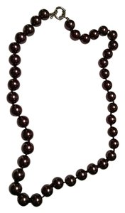 Fresh Water Pearl Necklace Large 10mm Brown Pearls 18 in. Necklace J1161