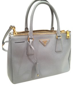 Prada Tote in Pastel Blue