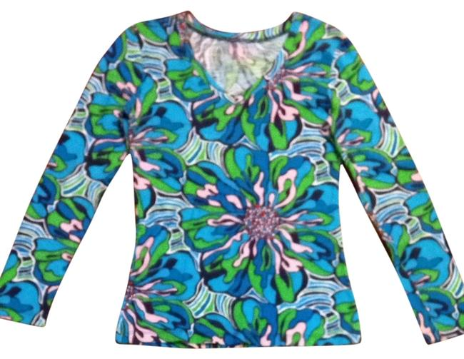 Lilly Pulitzer T Shirt Multi Floral