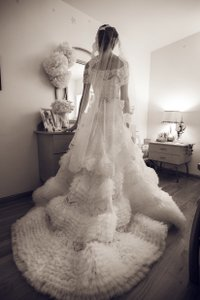 Edgardo Bonilla Alex (altered From Original) Wedding Dress