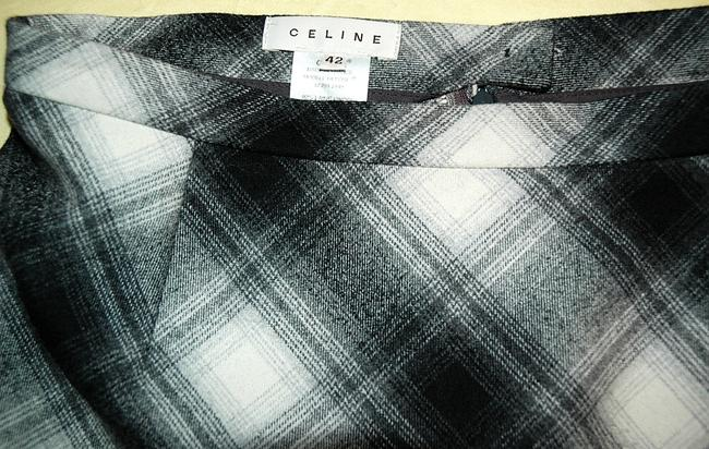 Céline Skirt Black, grey and cream