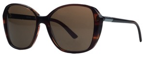 DKNY Donna Karan Brown Square Sunglasses