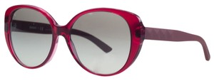 DKNY Donna Karan Red Oversized Sunglasses