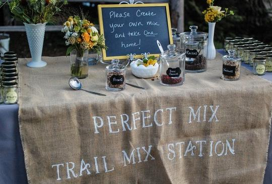 Other Trail Mix Station - Unique Favor Idea Reception Decoration