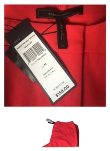 BCBGMAXAZRIA Straight Pants Red