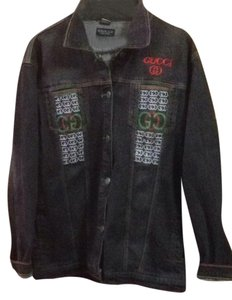 816ec16d3a8 Women s Gucci Denim Jackets - Up to 90% off at Tradesy