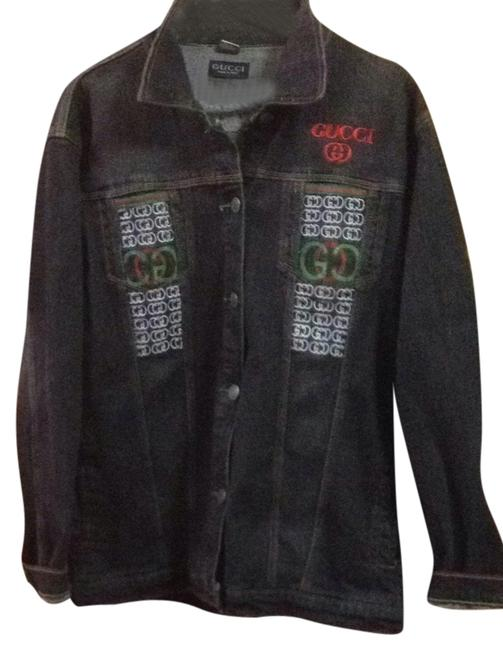 Item - Denim Classic with Exquisite Design Buttons For Men and Women Jacket Size 22 (Plus 2x)