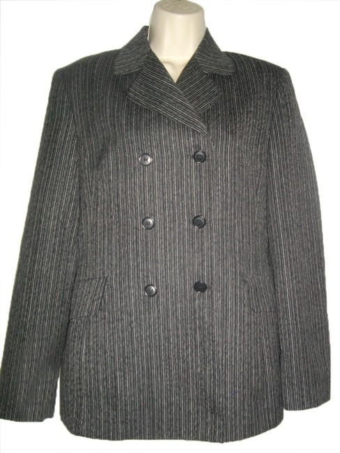 Preload https://item1.tradesy.com/images/sisley-dark-gray-double-breasted-stripes-miltary-jacket-size-8-m-5283940-0-0.jpg?width=400&height=650