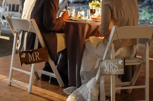 Other Mr. and Mrs. Rustic Signs Reception Decoration