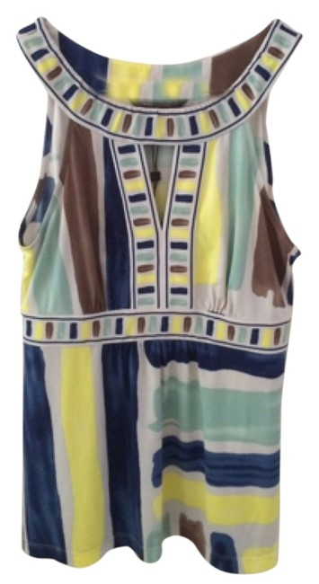 BCBGMAXAZRIA Top Multicolored
