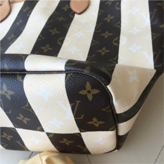 Louis Vuitton Neverfull Mm Lv Neverfull Rayures Tote