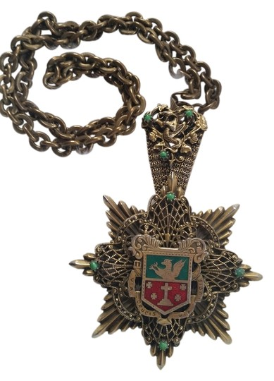 Preload https://item2.tradesy.com/images/antique-gold-one-of-a-kind-vintage-pendant-necklace-5284606-0-0.jpg?width=440&height=440