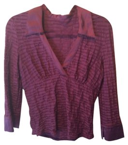 bebe Top Plum, purple