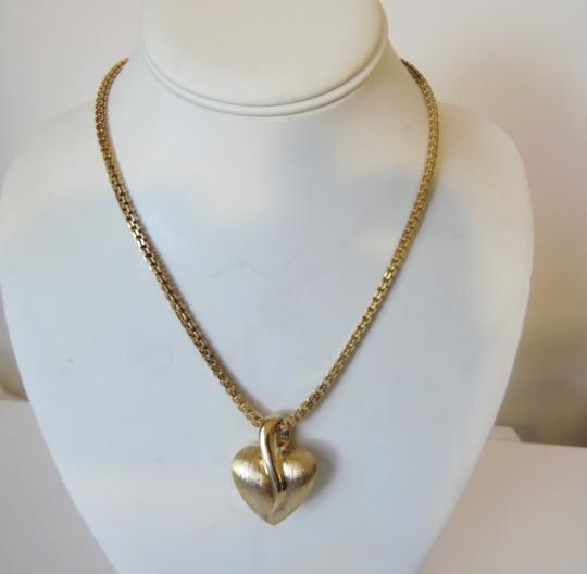 Veronese Collection Veronese Collection Reversible Heart Pendant with Box Chain