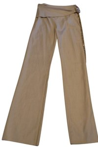 Valentino Formal Lightweight Tan Trouser Pants Cream / Beige