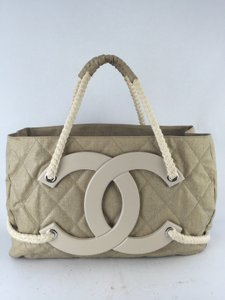 Chanel Classic Tote in Beige