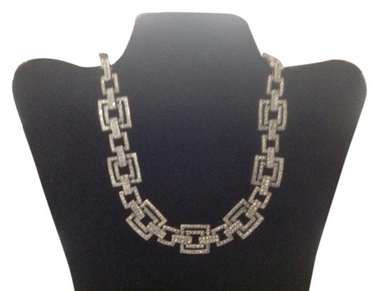 Preload https://item2.tradesy.com/images/pave-crystal-square-link-necklace-5285926-0-0.jpg?width=440&height=440