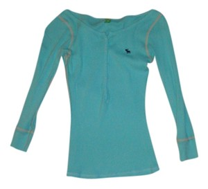 Abercrombie & Fitch T Shirt teal