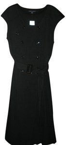 Banana Republic Belted Cap Sleeve Trench Dress