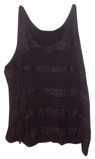 Old Navy Lace Top Black