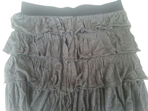 Elle Mini Skirt dark grey & black