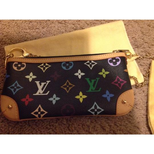 Louis Vuitton Black Multi Clutch