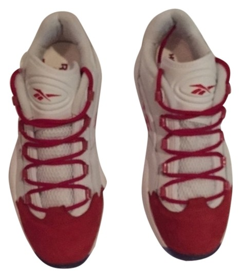 Reebok White with red Athletic