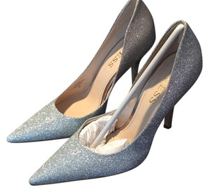 Guess Silver and Rose gold glitter Pumps