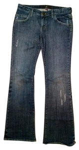 Miss Bison Size 29 P1618 Boot Cut Jeans-Medium Wash