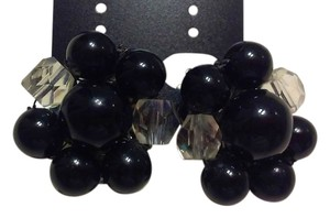 Jason Kole Beautiful Vintage 1960 Clip On Earrings