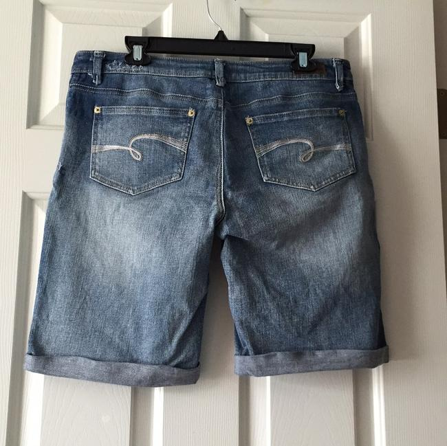 Justice Bermuda Shorts Stone Washed Denim