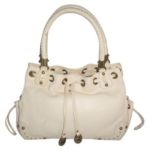 Michael Kors Satchel in Vanilla ( Off White )